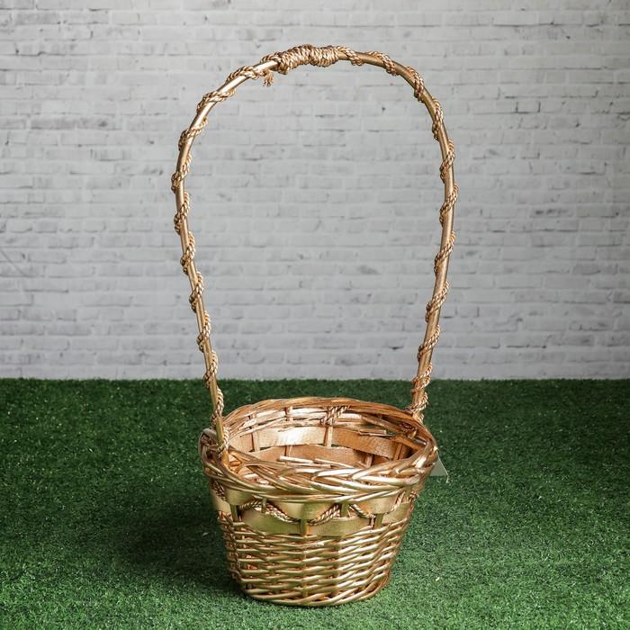 Корзина «Подарочная», 22×16/55 см, лоза