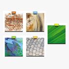 Тетрадь 48 листов клетка «Текстуры», мелованный картон, выборочный лак, микс