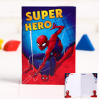 """Блокнот """"Super hero"""", Человек-паук, 32 листа, А6"""