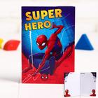 """Блокнот А6 """"Super hero"""", Человек-паук, 32 листа"""