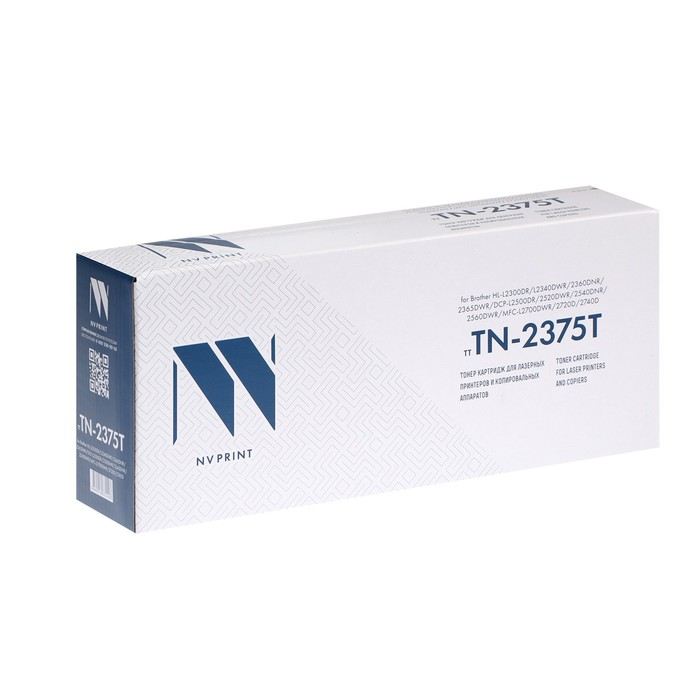 Картридж NV PRINT TN-2375T для Brother HL-L2300DR/DCP-L2500DR/MFC-L2700DWR (2600k), черный