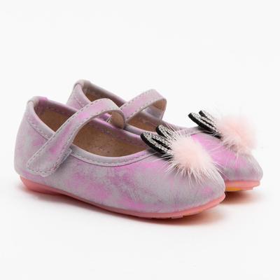 Туфли для девочки 819-1 MINAKU розовый, р. 19