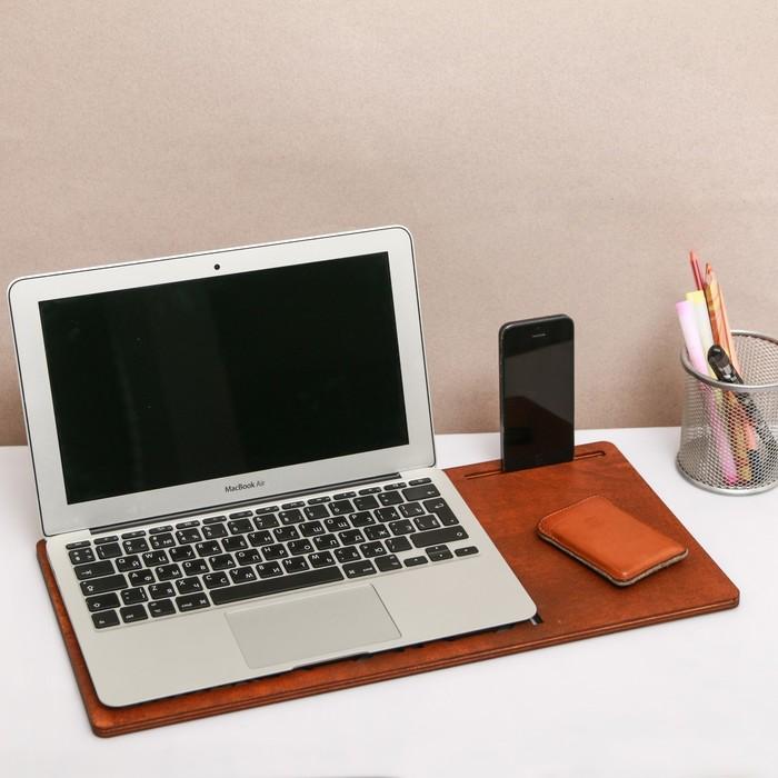 """Органайзер подставка для ноутбука """"Мой бизнес"""""""