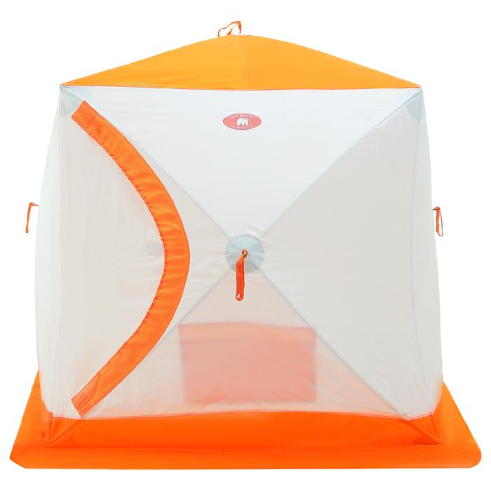 Палатка зимняя «КУБ-2» трёхслойная с термостежкой