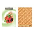 Планшет с зажимом А5 ламинированный картон «Ягодный десерт»