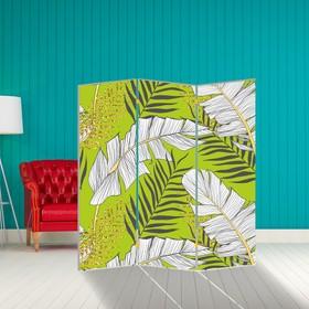 """Ширма """"Листья папоротника"""", 160 × 150 см"""