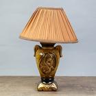 """Настольная лампа """"Илария"""" 1х60Вт E27 коричневый 20х20х34см."""