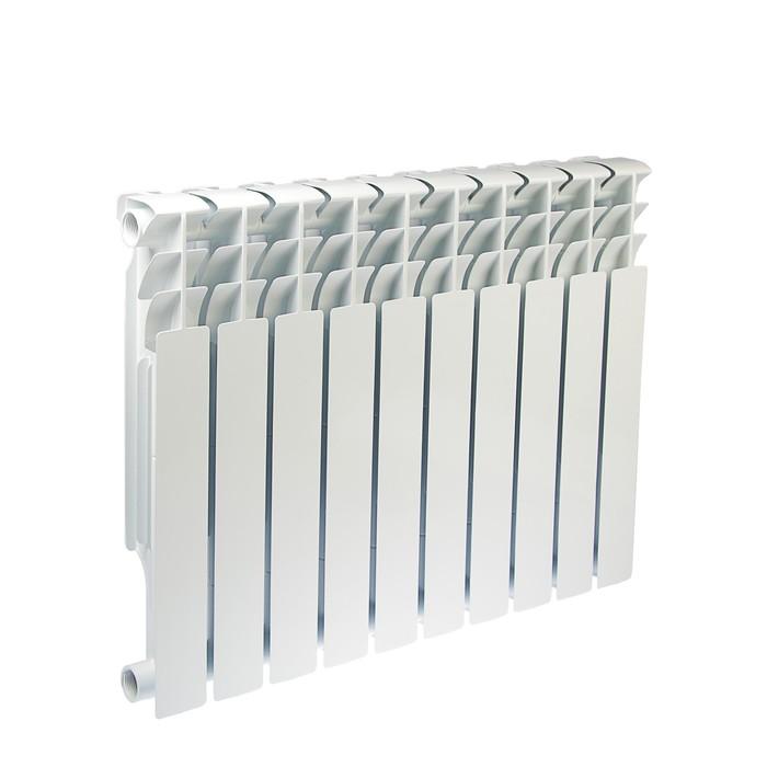 Радиатор биметаллический Oasis, 500 × 100 мм, 10 секций