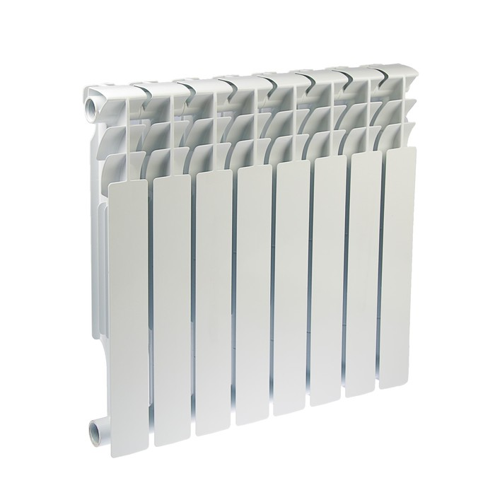 Радиатор биметаллический Oasis, 500 × 100 мм, 8 секций