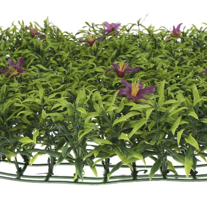Декоративная панель, 40 × 60 см, «Цветы в пятилистнике»