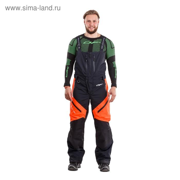 Штаны утепленные, Dragonfly мужские Sport Black-Orange M, размер XL