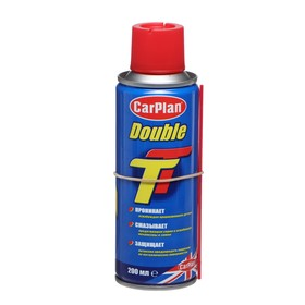 """Универсальная смазка Carplan """"DoubleTT"""", аэрозоль, 200 мл"""