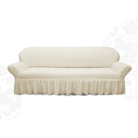 Чехол для мягкой мебели диван 3-х местный 6001, трикотаж, 100% п/э