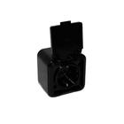 Розетка RA 16-211-Ч, цвет черный
