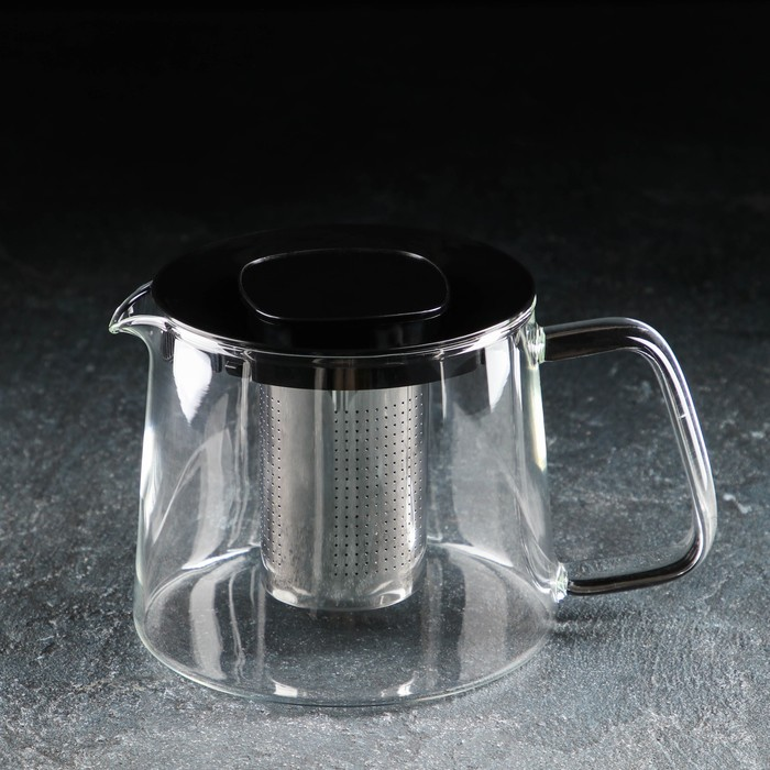 """The tea pot 1 l """"Loki"""", black"""