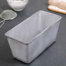 Форма хлебопекарная Л6, 23,5×11,5×11,5 см