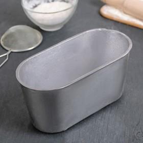 Форма хлебопекарная Л10 овальная, 20×10×10 см