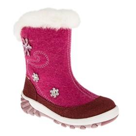Boots felt preschool art. m 3-1365 (pink) (b. 27)