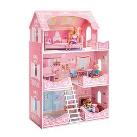 Кукольный домик «Адель Шарман» с мебелью и аксессуарами 7 шт.
