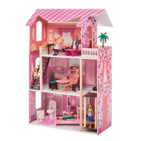 Кукольный домик «Монте-Роза», с мебелью