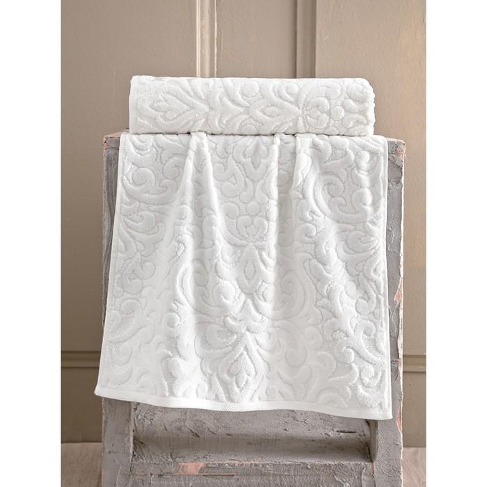 Полотенце Hazal, размер 50 × 90 см, кремовый