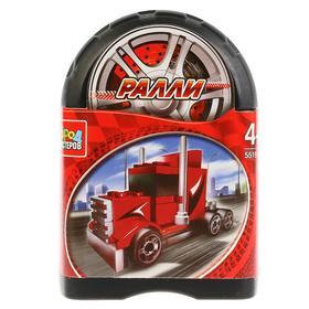 Конструктор «Ралли: спортивный грузовик», 54 детали