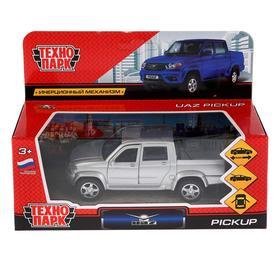 Машина металлическая Uaz Pickup, 12 см, открывающиеся двери, багаж