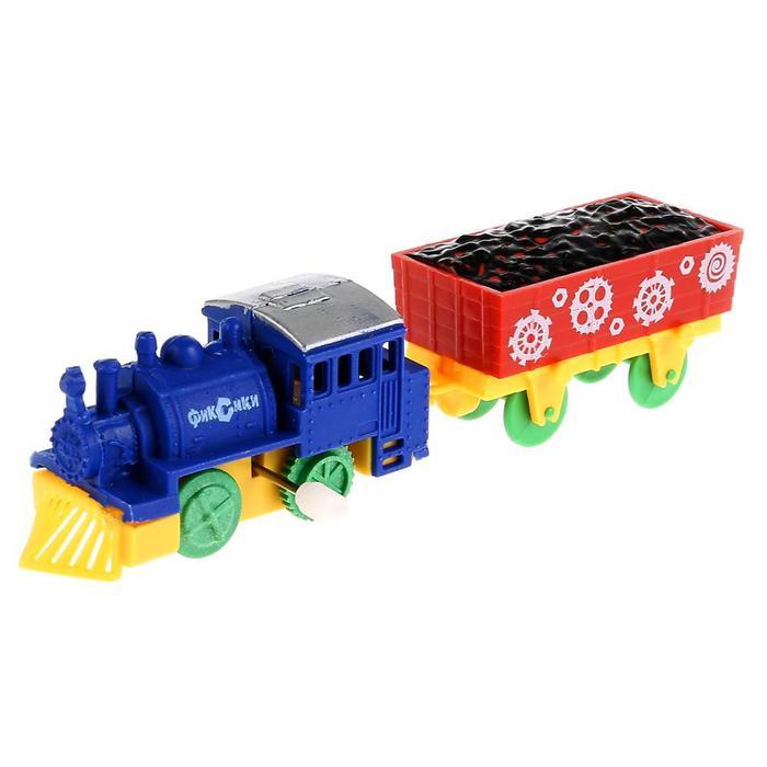Железная дорога заводная «Фиксики» - фото 105749081