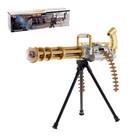 Пулемёт «Рокер», с вращающимся стволом, световые и звуковые эффекты, работает от батареек