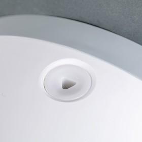 Диспенсер туалетной бумаги 29×26×13 см, втулки 5.7 см и 4.5 см, пластик, цвет белый с чёрным - фото 4648731