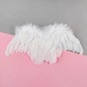 Fancy angel wings, white