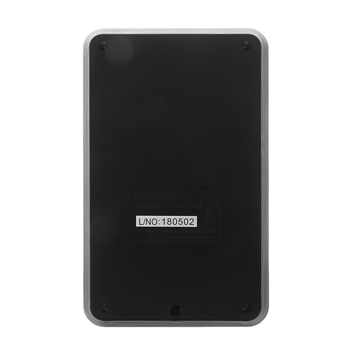 Калькулятор карманный 8-разрядный, 69х115х23 мм, питание от батарейки, чёрный LC310NR - фото 443620426