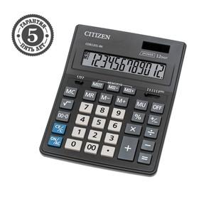 Калькулятор настольный 14-разрядный, 155 х 205 х 35 мм, двойное питание CDB1401BK