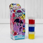 """Пальчиковые краски """"My Little Pony"""" 3 цвета*20мл 88489"""