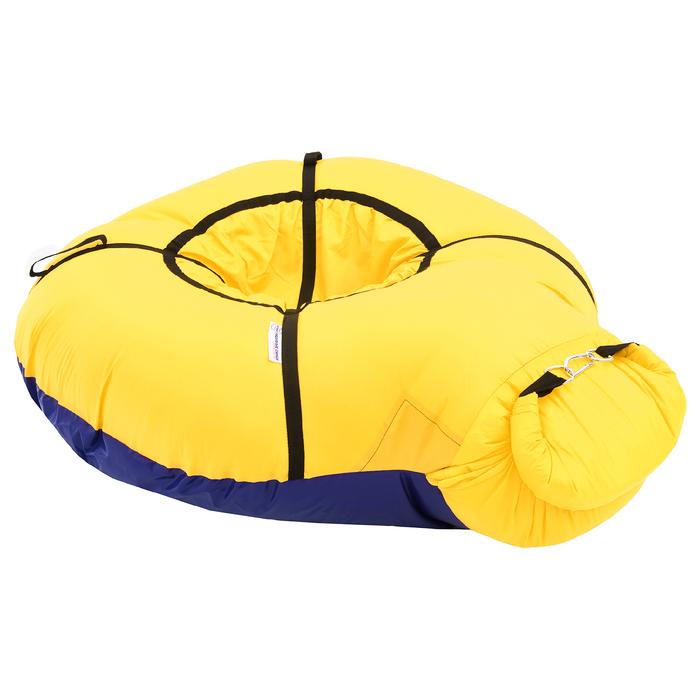 Надувные санки Бубинг цвет желтый