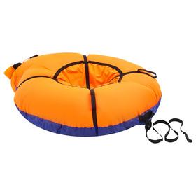 Inflatable sled Bubinga color: orange