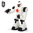 Робот радиоуправляемый «Космосолдат», световые и звуковые эффекты, цвет белый