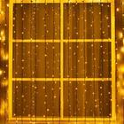 "Гирлянда ""Занавес"" уличная, УМС, 2 х 6 м, 3W LED-1440-220V, свечение тёплое белое"