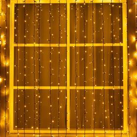 CURTAIN street, UMC, W:2 m:6 m, N. T. 3W LED-1440-220V, WHITE