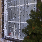 """Гирлянда """"Занавес"""" уличная, УМС, 2 х 6 м, 3W LED(IP65-O)-1440-220V, мерцание, свечение белое"""