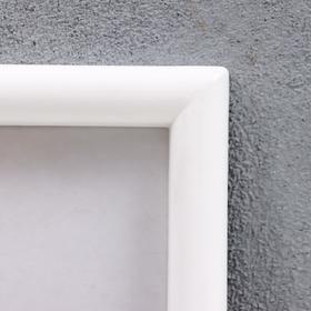 Фоторамка пластик L-4 10х15 см белый - фото 1707295