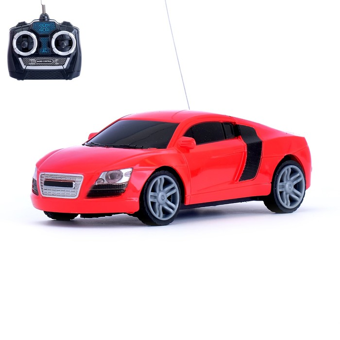 """Машина радиоуправляемая """"Купе"""", работает от батареек, масштаб 1:28, цвета МИКС"""