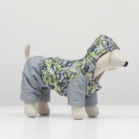 "Jumpsuit ""Riot"" for dogs, size S (DS 20-22 cm, OSH 26 cm, OG 32-34cm)"