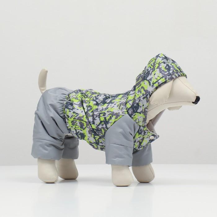"""Комбинезон """"Омон"""" для собак, размер 2XL (ДС 34-36 см, ОШ 34-36 см, ОГ 44-48 см)"""