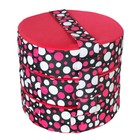 "Набор подушек ""Махаон"", размер 10х40 см-3 шт., разноцветный"