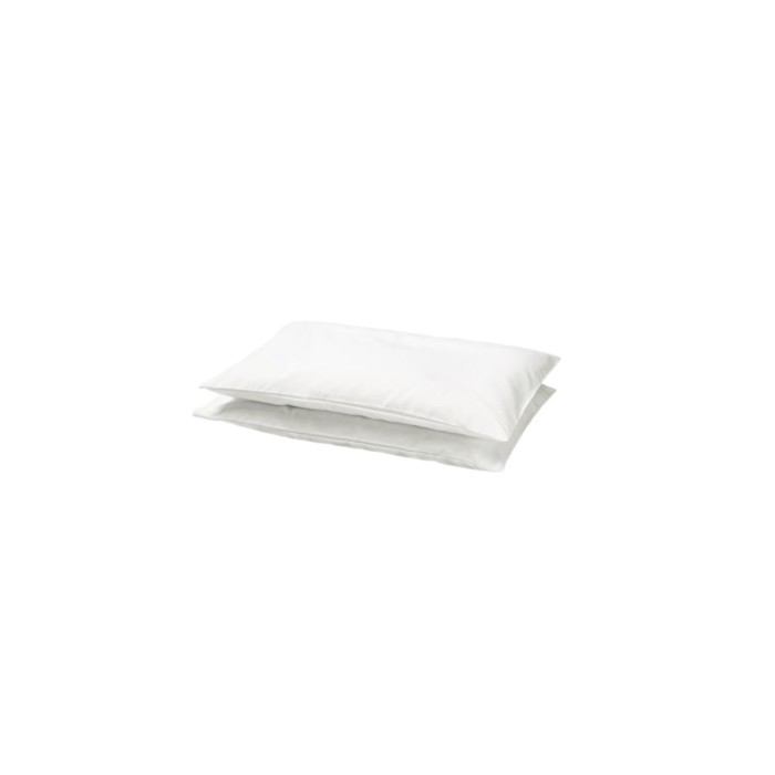 Наволочка ЛЕН, размер 35х55 см, цвет белый