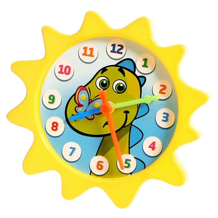Обучающие часики «Изучаем время» с набором карточек «Мой день» и «Времена года»