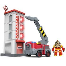 Набор игровой «Пожарная станция с фигуркой Рой»