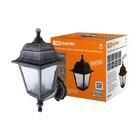Светильник садово-парковый TDM НБУ 04-60-001, 60 Вт, E27, четырехгранный, настенный, серебро
