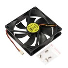Вентилятор Gembird, 120x120x25, подшипник, 3 pin, провод 30 см